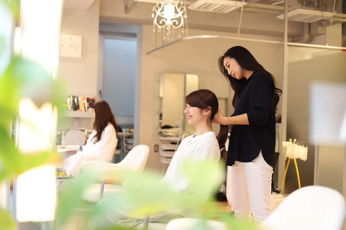 美容師のイメージ